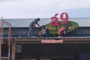 Advertising Batam, Huruf Timbul, Papan Nama, Box Up 3d, Akrilik, Neon box di Batam